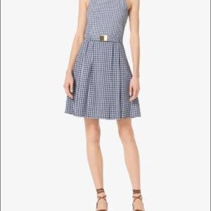 NWOT Michael Kors Gingham Spring Dress